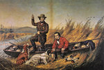Wild Duck Shooting: A Good Day's Sport, 1954 Fine Art Print by William Snr. Shayer
