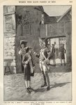 Hannah Snell, enlisting in King George II's Army, illustration from 'Munsey's Magazine' Fine Art Print by Samuel Wale
