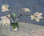 Magnolias from Debbie's Garden Fine Art Print by Jason Bowyer