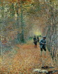 The Shoot, 1876 Wall Art & Canvas Prints by Alfred Sisley