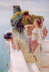 A Coign of Vantage, 1895 Fine Art Print by Sir Lawrence Alma-Tadema