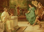 A Roman Dance, 1866 Wall Art & Canvas Prints by Sir Lawrence Alma-Tadema