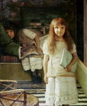 This is our Corner, 1873 Wall Art & Canvas Prints by Sir John Everett Millais