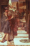 The Departure, 1880 Fine Art Print by Sir Lawrence Alma-Tadema