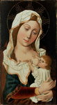 Virgin and Child Postcards, Greetings Cards, Art Prints, Canvas, Framed Pictures, T-shirts & Wall Art by Gerard David