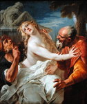 Suzanna and the Elders Fine Art Print by Jacopo Robusti Tintoretto