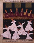 Ritual of the whirling dervishes at Konya Postcards, Greetings Cards, Art Prints, Canvas, Framed Pictures, T-shirts & Wall Art by Carl Haag
