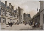 Cluny Hotel and Museum, Paris, illustration from 'Paris dans sa splendeur', published by Henri Charpentier, 1861 Fine Art Print by Philippe Benoist