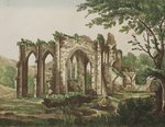 Furness Abbey, Lancashire, 1810 Fine Art Print by Thomas Hearne