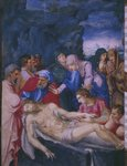 Entombment, from a facsimile of the Breviary of King Philip II of Spain, 1569 Wall Art & Canvas Prints by Albrecht Dürer or Duerer