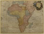 Map of Africa, published in 1700, Paris Fine Art Print by Guillaume Delisle