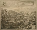 Map of Serravalle, from 'Les Villes de Venetie', 1704, published by Pierre Mortier in Amsterdam Wall Art & Canvas Prints by Georg Braun