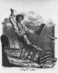 'Rotten job', engraved by Langlume Postcards, Greetings Cards, Art Prints, Canvas, Framed Pictures, T-shirts & Wall Art by Hermann Kauffmann