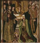 The beheading of St. Thomas in India Fine Art Print by Benozzo di Lese di Sandro Gozzoli