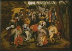 Open air wedding dance, 1610 Fine Art Print by Pieter the Elder Bruegel