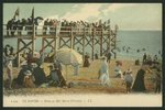 Postcard depicting the Baths Marie-Christine at Le Havre, c.1900 Poster Art Print by P.J. Crook