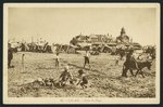 Postcard depicting the beach and the Casino in Calais, France, c.1920 Fine Art Print by Lincoln Seligman