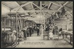 Postcard depicting a manufacture of ribbons in Malaguet, near La Chaise Dieu, Haute-Loire, c.1900 Fine Art Print by French Photographer