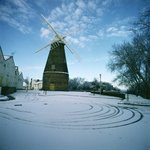 Rayleigh Windmill, Essex (photo) Fine Art Print by Christian Kaempf