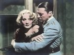 "Still from the film ""Shanghai Express"" with Marlene Dietrich and Clive Brook, 1932 Fine Art Print by German Photographer"