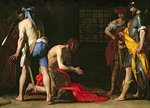 The Beheading of John the Baptist, 1634 Fine Art Print by Sano di, also Ansano di Pietro di Mencio Pietro