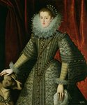 Queen Margarita of Austria, 1609 Wall Art & Canvas Prints by Diego Rodriguez de Silva y Velazquez