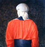 High Court Judge, 2005 (acrylic) Fine Art Print by Lincoln Seligman
