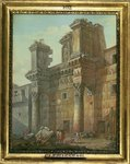Forum of Nerva Fine Art Print by Giovanni Battista Piranesi