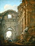 Architectural Ruins, 1765 Fine Art Print by Giovanni Battista Piranesi