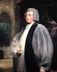Dr. John Moore (1730-1805) Archbishop of Canterbury (oil on canvas) Fine Art Print by Angelica Kauffmann