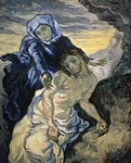 Pieta, 1890 Postcards, Greetings Cards, Art Prints, Canvas, Framed Pictures, T-shirts & Wall Art by Luis de Morales