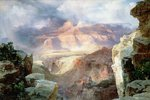 A Miracle of Nature, 1913 Wall Art & Canvas Prints by Thomas Moran