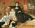 Madame Georges Charpentier and her Children, 1878 Wall Art & Canvas Prints by John Lidzey
