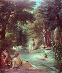 Turkish Women Bathing Fine Art Print by Joseph Mallord William Turner