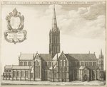 Salisbury Cathedral, illustration for 'Monasticon Anglicanum' by William Dugdale, 1672 Fine Art Print by John Buckler