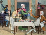 Le Restaurant, pub. by Rodwell and Martin, 1820 Poster Art Print by Tony Todd