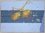 Constellation of Libra, from 'Uranometria' by Johann Bayer, engraved by Alexander Mair Fine Art Print by Johann Bayer