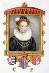 Portrait of Catherine Parr Fine Art Print by Gabriel Metsu