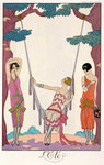 Summer, from 'Gazette du Bon Ton', 1925 Fine Art Print by Georges Barbier