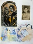 Illustrations from 'Noa Noa, Voyage a Tahiti', published 1926 Poster Art Print by Paul Gauguin