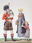 Scottish family Fine Art Print by Samuel Wale