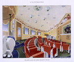 View of the childrens playroom on the 'Normandie', from 'L'Illustration' magazine, 1935 Fine Art Print by English School