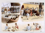 Sports, from 'P & O Pencillings' c. 1891