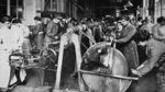 Women's part in the organisation of Victory: munition workers learning to use machinery at the Shoreditch Technological Institute, from 'The Illustrated War News' Fine Art Print by English Photographer