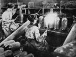 For General Petain's guns, French women finishing shell cases, from 'The Illustrated War News' Fine Art Print by English Photographer