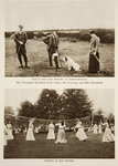 Golf in the later 90s at Berkhampstead and Netball in the 90s, photographs from The Times from the 1890s