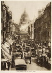 Fleet Street and St. Paul's, 1897, photograph from The Times Wall Art & Canvas Prints by English Photographer