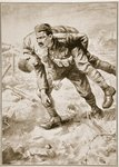 Rifleman Kulbir Thapa, V.C., Queen Alexandra's Own Gurkha Rifles Poster Art Print by English School