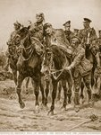 On Britain's Roll of Honour: the Return from the Charge Fine Art Print by English School