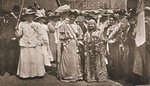 The Head of the Women's Sunday Procession to Hyde Park, 21st June 1908 Postcards, Greetings Cards, Art Prints, Canvas, Framed Pictures, T-shirts & Wall Art by English Photographer